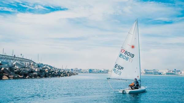 Escollera Puerto de València