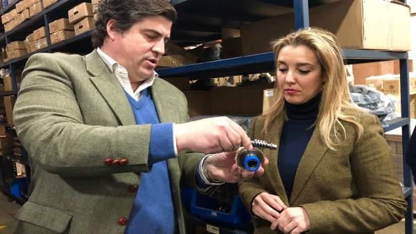 Alcaldesa de Alcalá de Guadaíra en la firma Cidepa Sincron