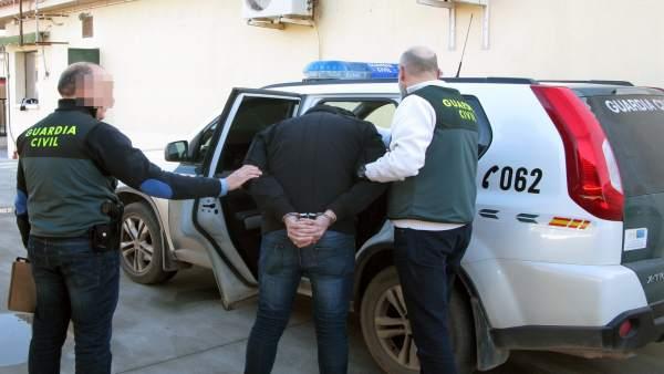 La Guardia Civil Desmantela Un Grupo Criminal Dedicado Al Robo En Viviendas.