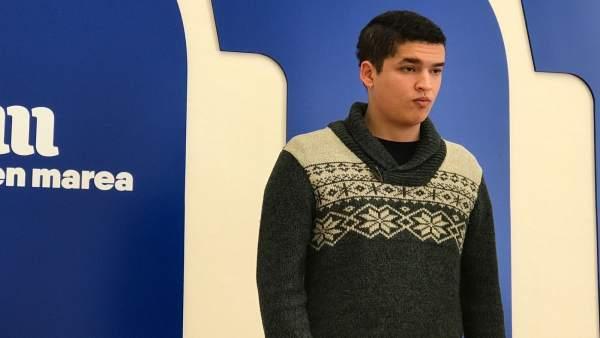 Emilio Cao, joven gallego que será juzgado Madrid