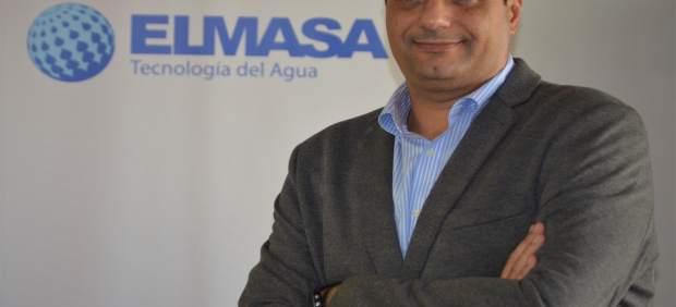 Carmelo Santana, nuevo gerente de ELMASA Tecnología del Agua en Canarias