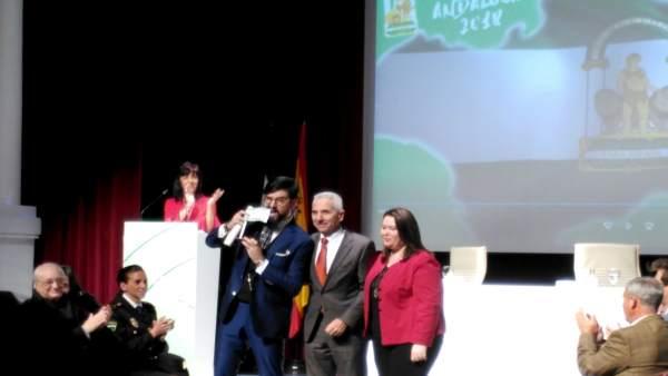 Entrega de las Banderas de Andalucía en Sevilla