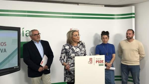 La diputada socialista por Huelva Josefa González Bayo.