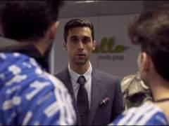 Arbeloa entrena al primer equipo de fútbol de 'youtubers'