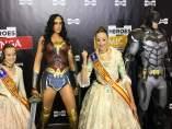 Les falleres majors visiten la Heroes Comic Con València