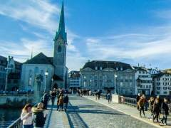 Dos muertos por un tiroteo en Zúrich