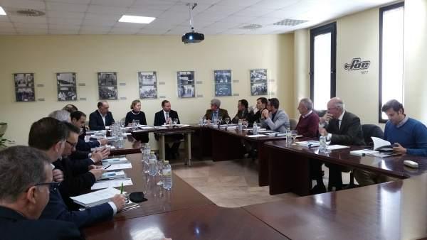 Comité ejecutivo de la FOE.