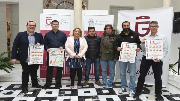 Presentación del Circuito de Orientación Granada