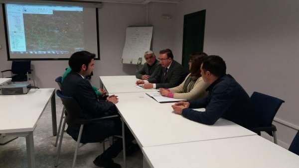 Reunión entre Endesa y alcaldes de la Sierra.
