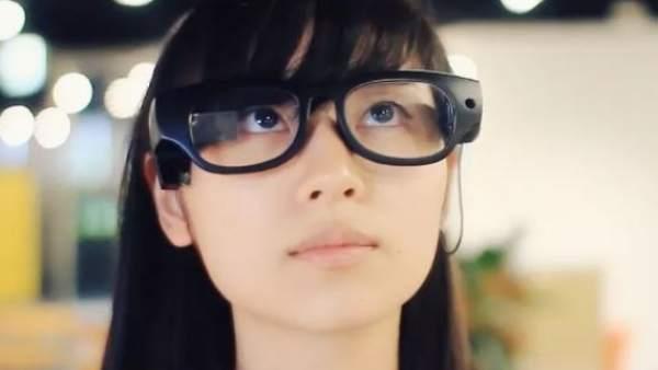 Las gafas que convierten el texto en voz