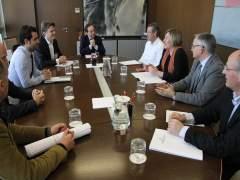 Reunió de la Conselleria i els impulsorers del projecte