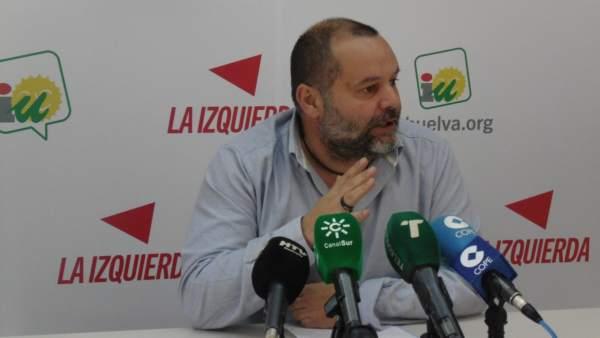 Rafael Sánchez Rufo, coordinador provincial de IULV-CA en Huelva.