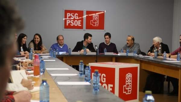 Gonzalo Caballero preside la ejecutiva del PSdeG