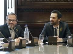 El presidente del TSJC abandona un acto al hablar Torrent de presos políticos