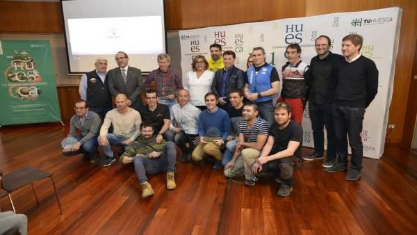 Reconocimiento a los participantes de la Challenge Huesca