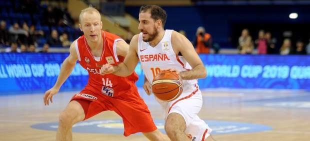 España vence con suspense a Bielorrusia y sigue apuntando al Mundial de China
