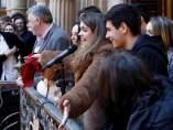 Recepción de Amaia en Pamplona