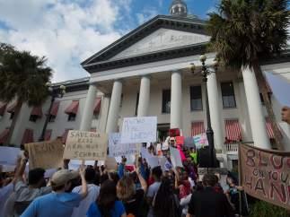 Protesta contra las armas en Florida