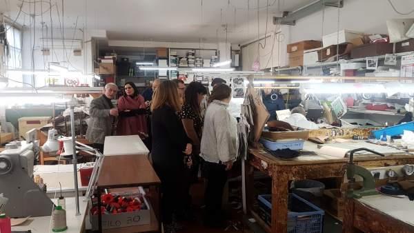 Fotos Y Nota De Prensa: Un Total De Nueve Empresas Gaditanas De Piel Y Marroquin