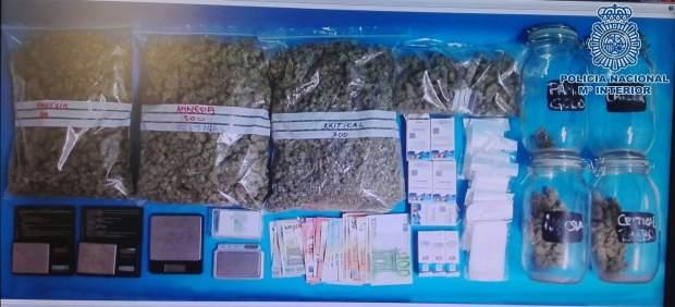 Detienen a un vendedor de droga en el sur de Gran Canaria
