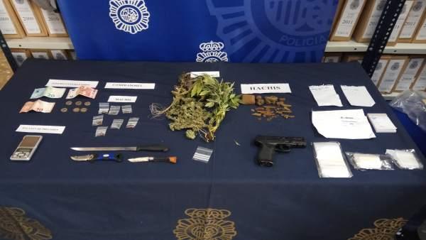 Hachís marihuana Policía Nacional