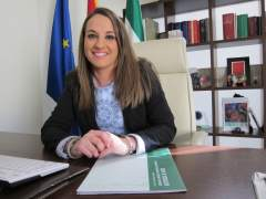 La delegada del Gobierno andaluz, Esther Ruiz