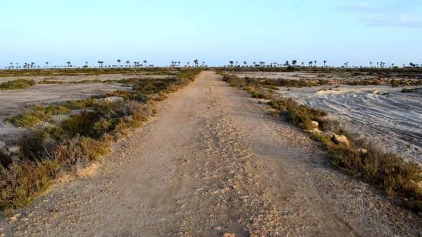 Las Salinas de Roquetas de Mar
