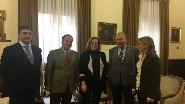 Palencia.- Armisén se reúne con responsables de Fundación Personas