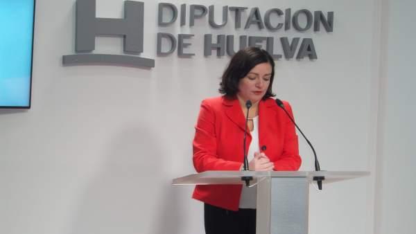 La diputada de Bienestar Social de Huelva, Aurora Vélez
