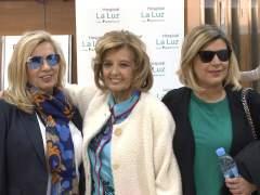 María Teresa Campos se emociona al recibir el alta
