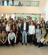 Salamanca.-  Fernández Mañueco junto a miembros de Nuevas Generacione