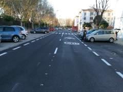 Carretera tras el plan de Mantenimiento de Firme