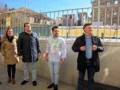 Salamanca.- Francisco Vázquez (d) unto con Carazo (c) y Mañueco