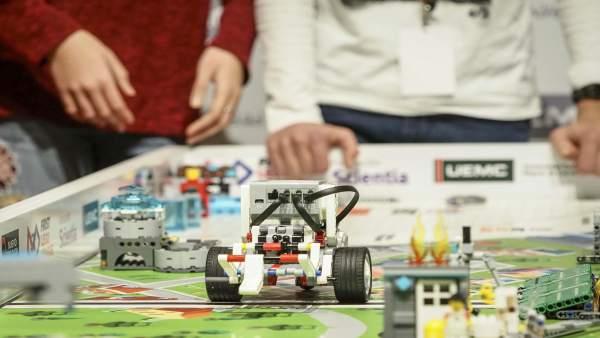 Valladolid.- Un momento del desafío First Lego