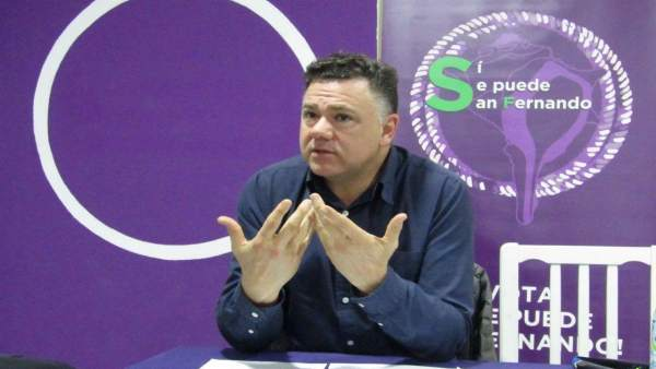 El diputado de Unidos Podemos Juan Antonio Delgado