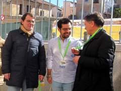 Salamanca.- Mañueco (i), Carazo y Vázquez.