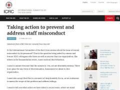 Cruz Roja Internacional reconoce varios incidentes sexuales desde 2015