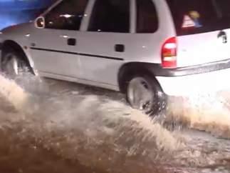 Las fuertes lluvias y las rachas de viento provocan incidentes en el archipiélago canario