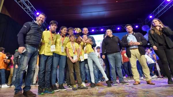 Ganadores de la First Lego League Canarias 2018