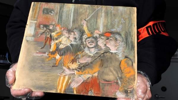 Cuadro de Degas