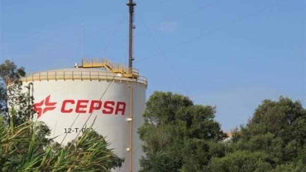 Refinería de Cepsa en San Roque
