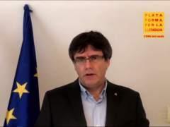 """Puigdemont: """"El rey será bienvenido cuando pida perdón por el 1-O"""""""
