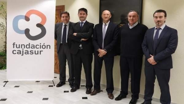 Fundación Cajasur firma acuerdos con clubes deportivos