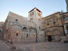 Las iglesias cristianas cierran el Santo Sepulcro de Jerusalén en protesta por un impuesto