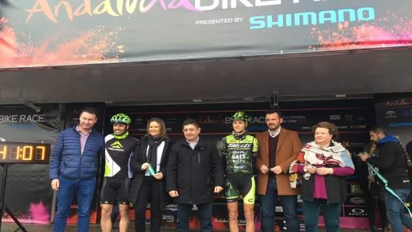 Salida de la 'Andalucía Bike Race'