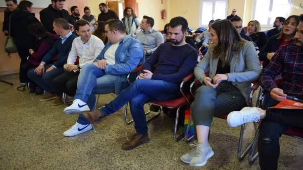 """Luis Tudanca Llama A Las Juventudes Socialistas Leonesas A """"Batallar"""" Juntos Con"""