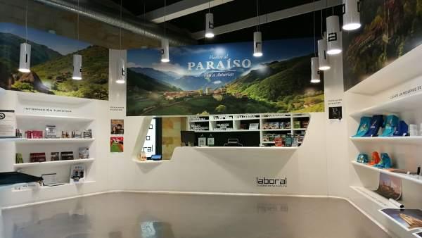 Imagen de la nueva oficina de información turística de Laboral.