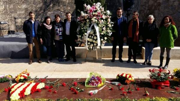 Acto homenaje víctimas del franquismo