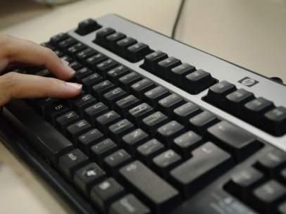 Foto de un teclado