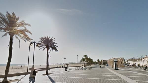 Paseo marítimo Valencia